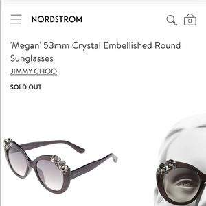 Brand new Jimmy Choo Chrystal sunglasses